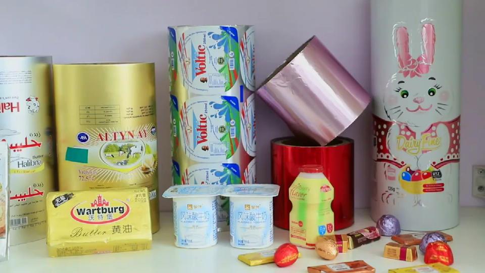 Aluminum Foil Food Wrap, Confectioners Foil Wrap