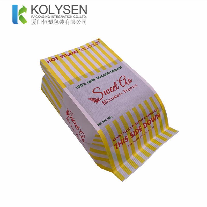 Biodegradable Microwave Popcorn Paper Bags
