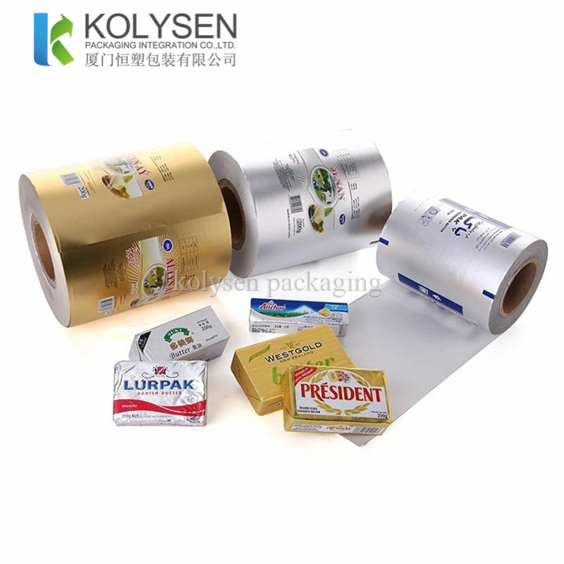 Roll Stock Aluminum Foil Paper for Butter Wrapping
