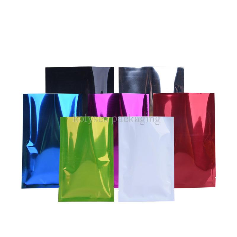 Three Side Seal Aluminum Foil Pouch Bag