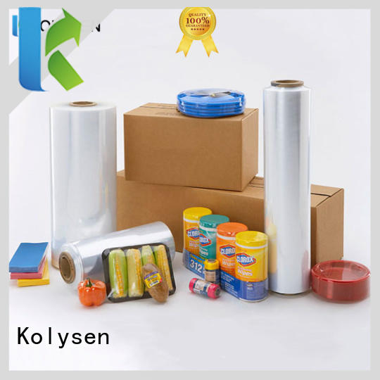 Kolysen big roll of saran wrap for business for food packaging