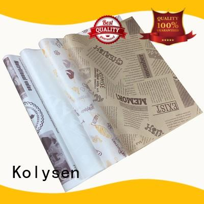Kolysen bulk aluminium foil with butter paper company for wrapping butter/margarine