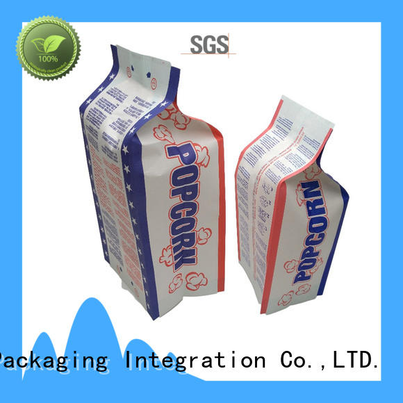 custom paper food bags for business for wrapping soft drink
