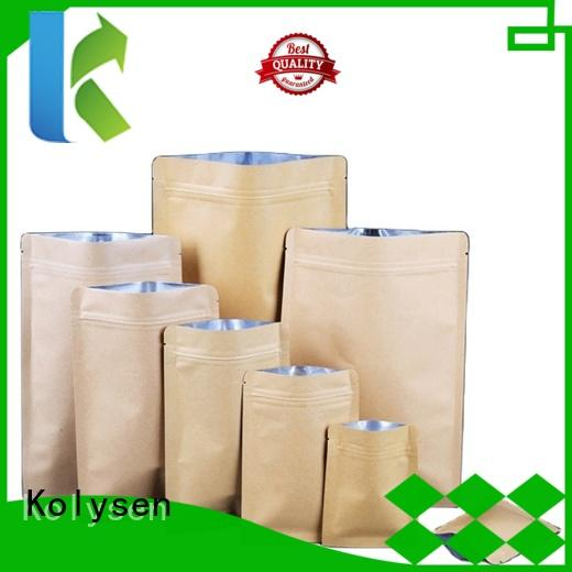 High-quality silver paper bags Suppliers used to pack coffee ben tea