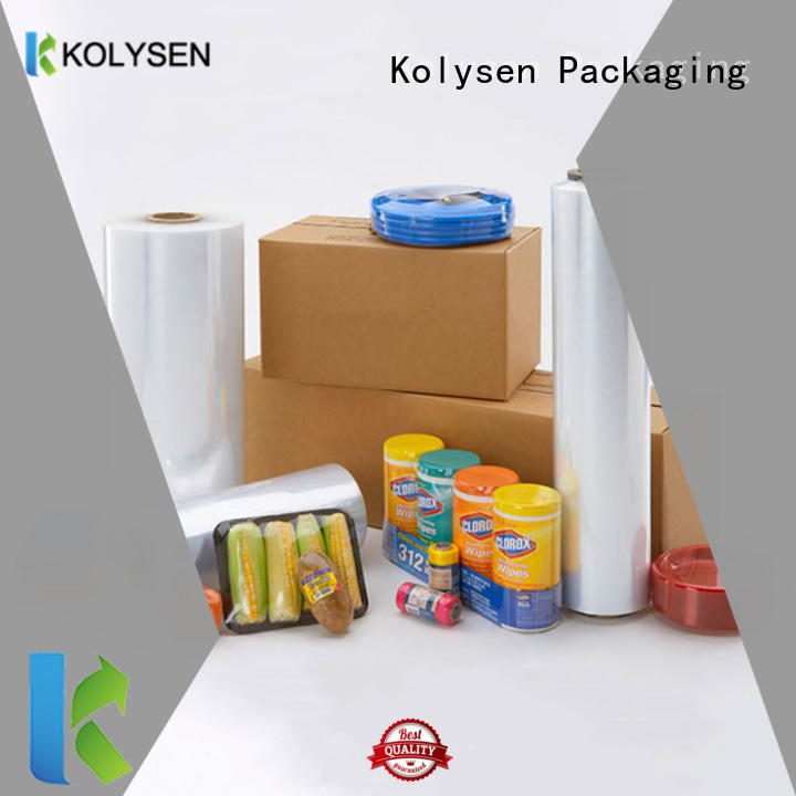Kolysen shrink wrap supplies Supply for Pharmaceutical industries