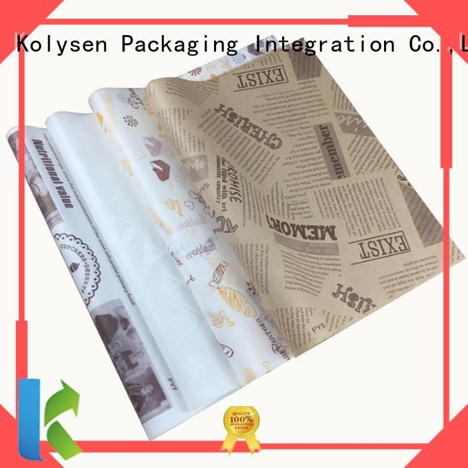 High-quality baking paper in microwave manufacturers For food packing