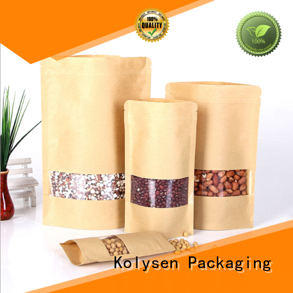 Kolysen 10 brown paper bags manufacturers used to pack dried food
