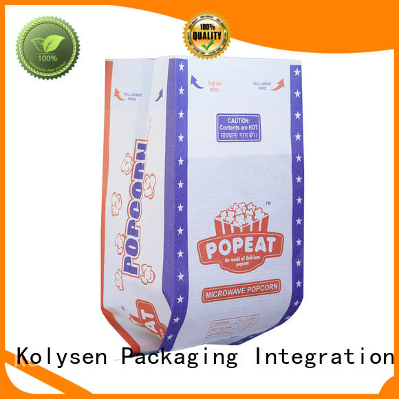 Wholesale healthy bagged popcorn for business for microwave food