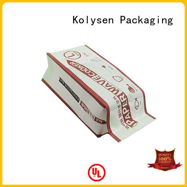 Kolysen air popcorn recipes company for popcorn packaging