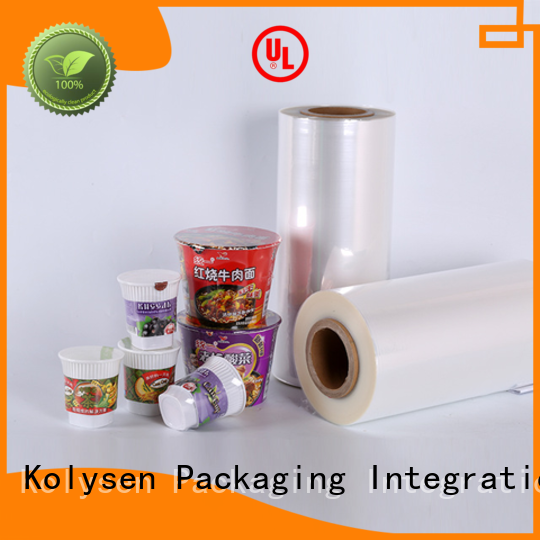 Kolysen Custom film stretch Suppliers for Pharmaceutical industries