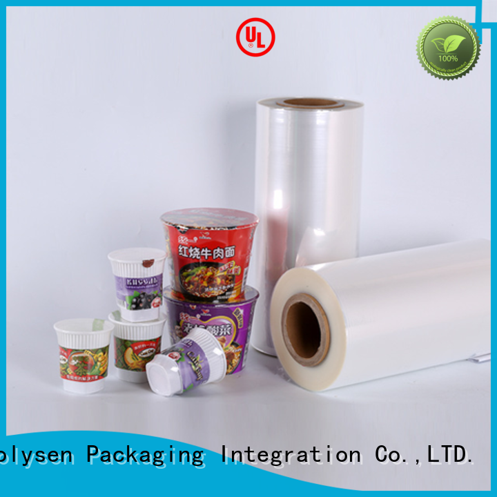 Kolysen Custom stretch film roll suppliers manufacturers for Food & beverage industries