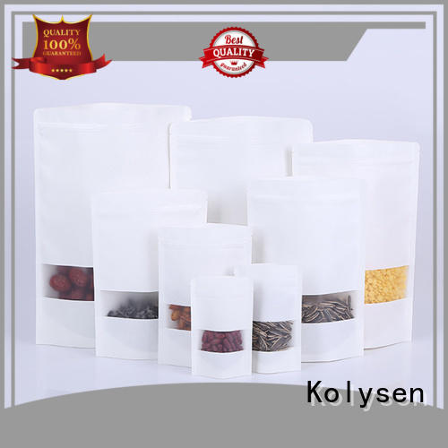 Kolysen brown paper bottle bags factory used to pack dried food