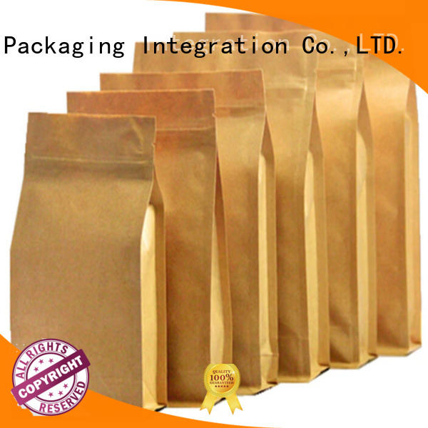 Custom kraft paper bag manufacturers for business used to pack coffee ben tea