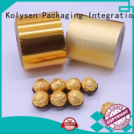 Kolysen Custom foil packaging for business for wrapping chewing gum