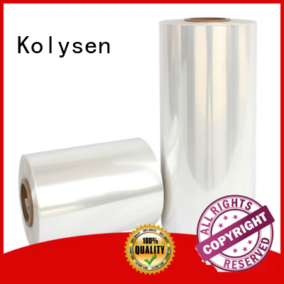 Kolysen Custom packing wrapping film company for Stationery & Writing instrument industries