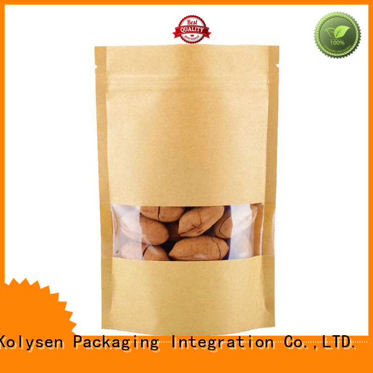 Kolysen Best order brown paper bags company used to pack coffee