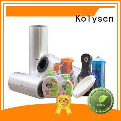 Kolysen plastik shrink wrap factory for Stationery & Writing instrument industries