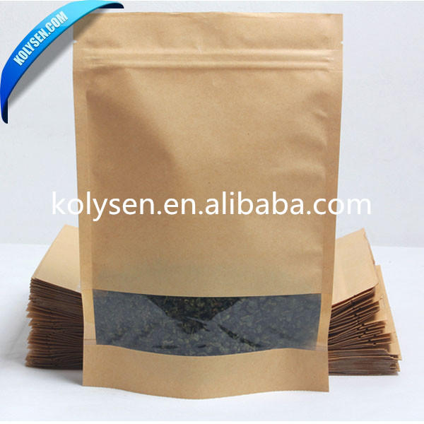 High-quality small brown bags with handles Suppliers used to pack dried fruit-1