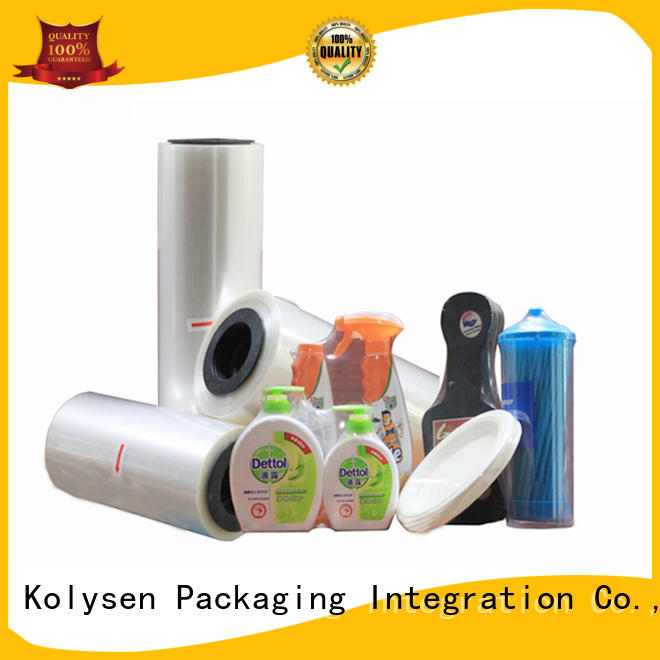 Top black shrink wrap film Supply for food packaging