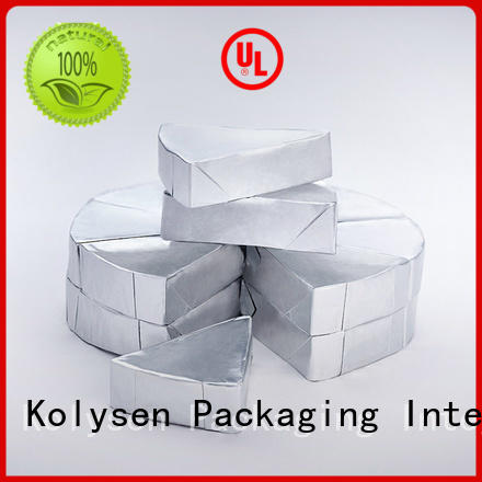 Top foil for chocolate wrapping company pharmaceutical bottle neck