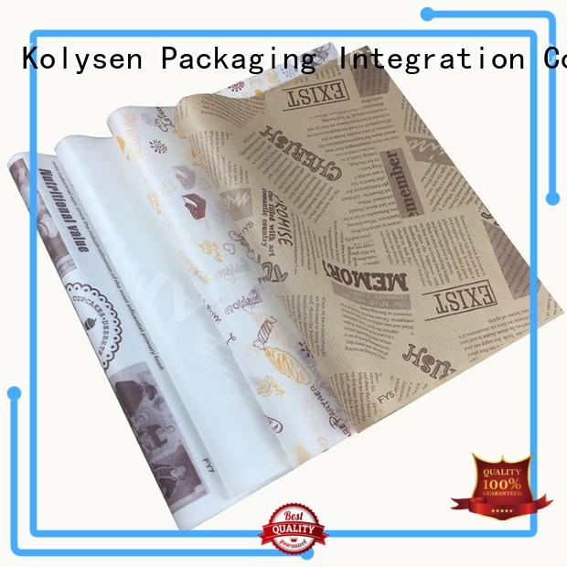 Kolysen chocolate aluminium wrapping foil wholesale products for sale for wrapping chocolate