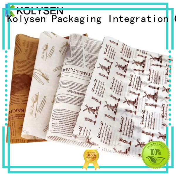 Custom is parchment paper the same as greaseproof paper company For food packing