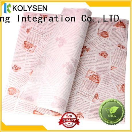 Kolysen parchment paper cookie sheet manufacturers for sandwich packaging