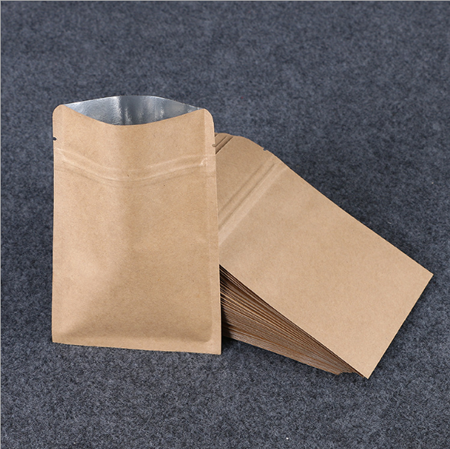 High-quality small brown bags with handles Suppliers used to pack dried fruit-3